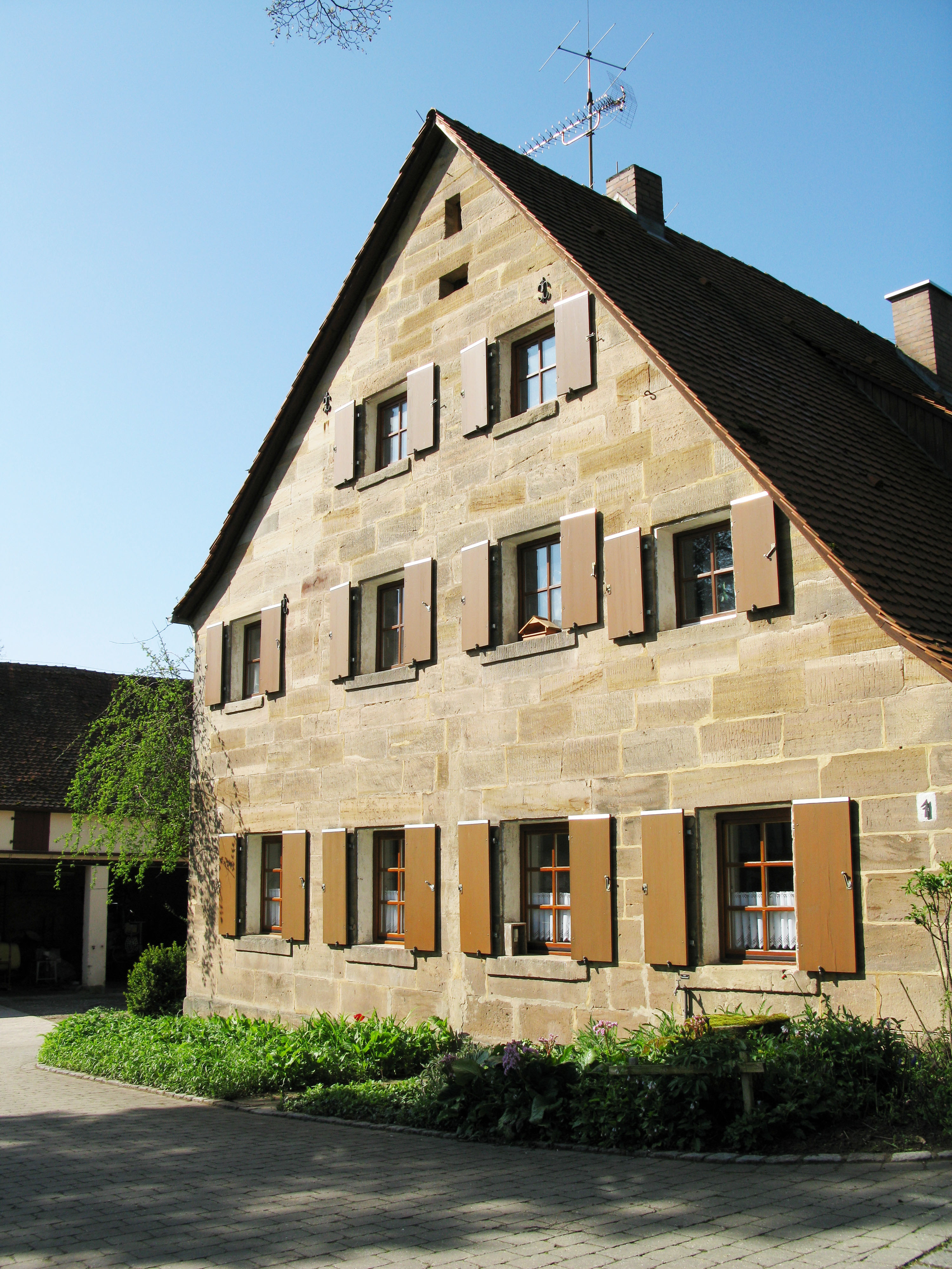 Bauernhof Rossendorf