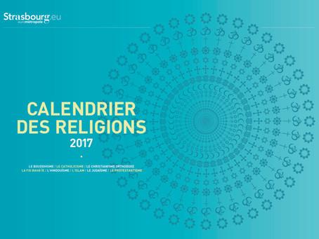Calendrier des religions 2017
