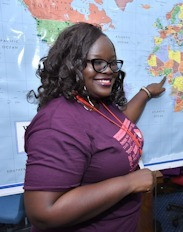 Nigerian ESD Global Graduate Amplifies Womens' Voices in Response to Increased Rates of Domestic