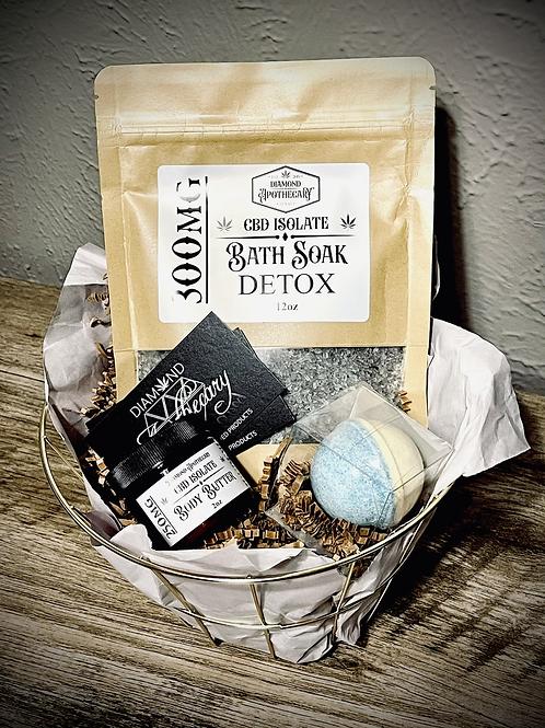 Bath & Body Gift Basket