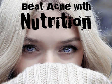 How Nutrition Can Kick Acne