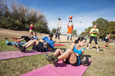Group Exercises Circuit Training and HIIT workouts