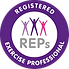 REPS Registered personal trainer