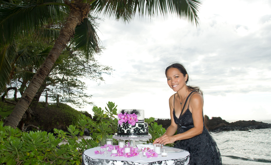 Wedding cake set-up by Grace Wedding