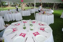 Wedding reception at Honua Kai Lani