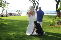 Wedding ceremony at Honua Kai Lani