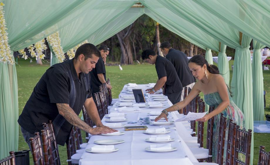 Honua Kai Lani Estate Maui Wedding