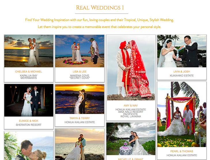 REAL WEDDINGS 1