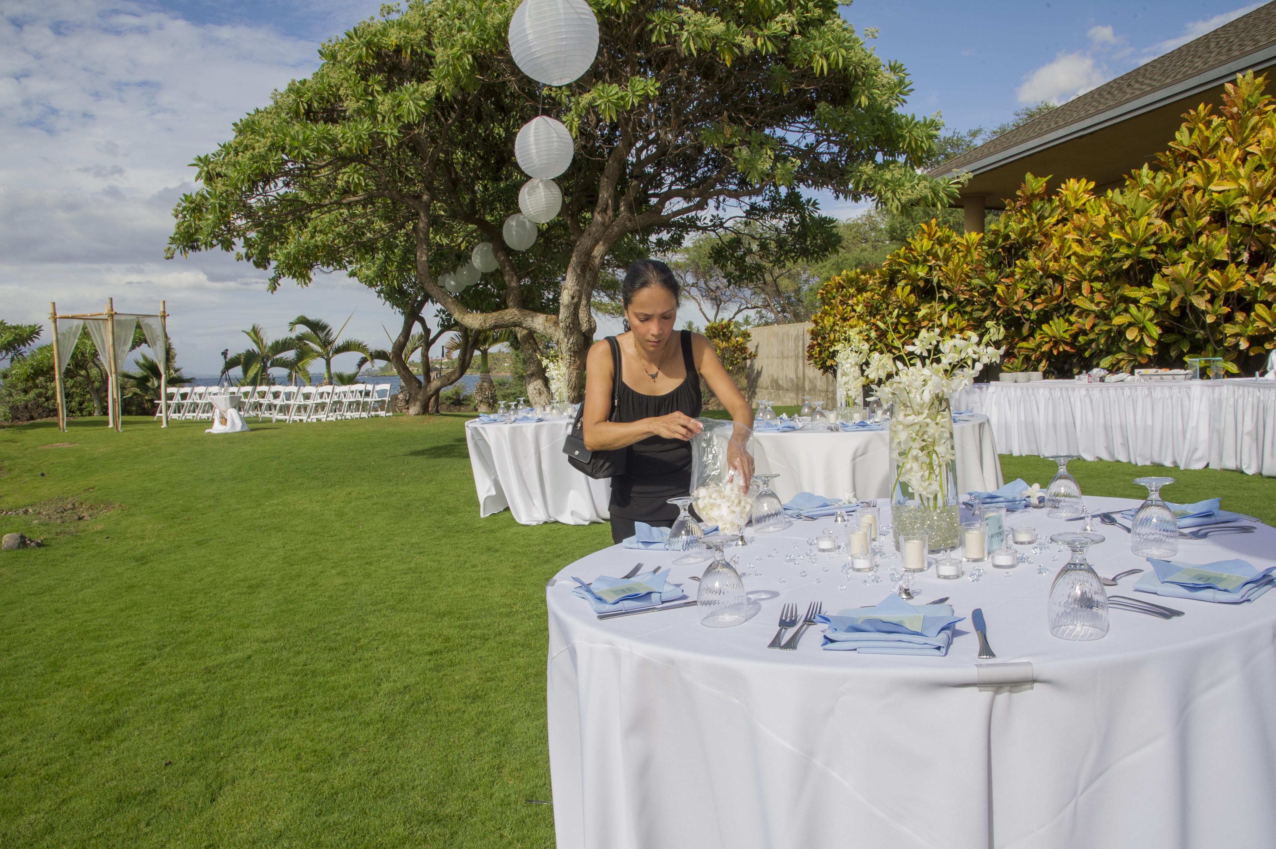 Kukahiko Estate Maui Wedding Planner