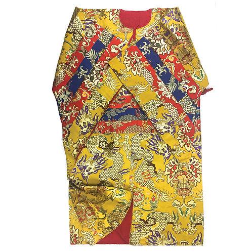 金剛舞套裝 三件ㄧ組 (黃) Dancing Suit 3 Pcs (yellow)