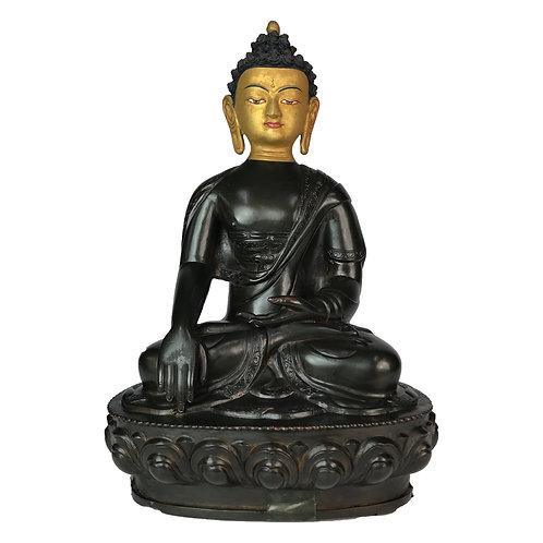 釋迦佛-7 紫銅 手工 尼泊爾 佛像 Shakyamuni Copper Handmade Nepal 18x28cm / 2.7kgs