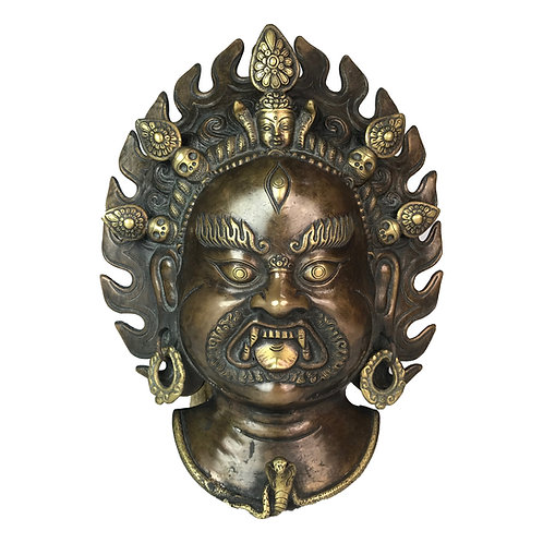 瑪哈嘎拉 面具 Wrathful Mask (6)
