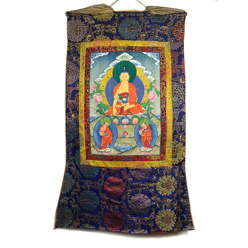 釋迦佛 (H) 唐卡 Shakyamuni Thangka 60x108cm
