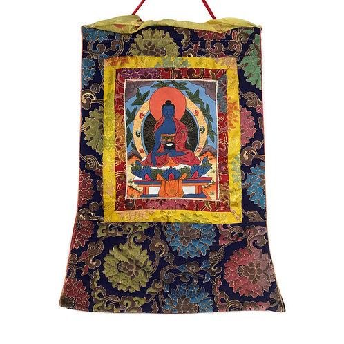 佛 b 小唐卡 Buddha Thangka 43x67cm