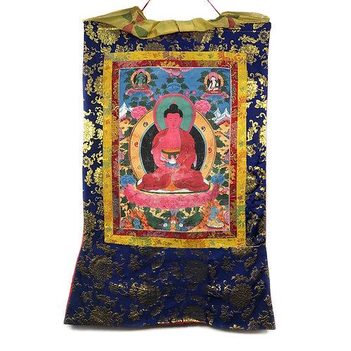 阿密陀佛 唐卡 Amitabha Thangka 65x103cm