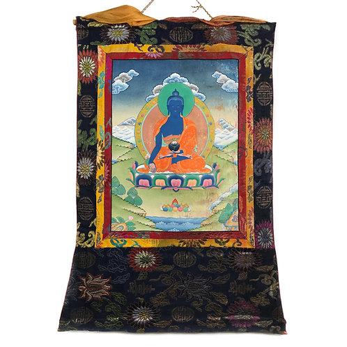 藥師佛 a 唐卡 Medicine Buddha Tanka 59x88cm
