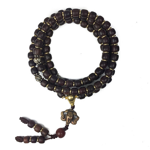 8mm 紫檀 (圓/方形) 108 prayer beads