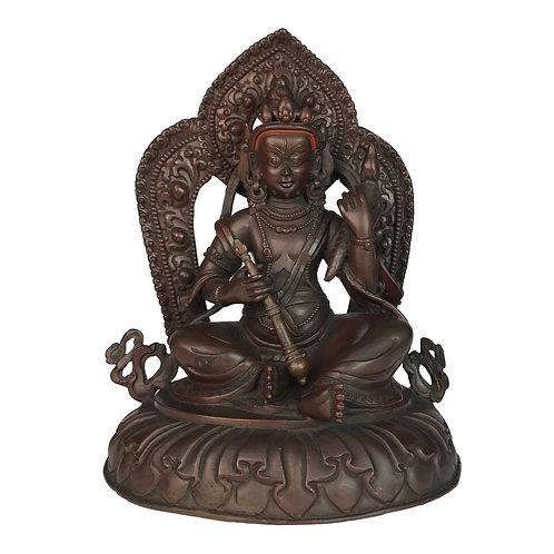 特殊財神-4 銅 手工尼泊爾 佛像 Special Jambala Copper Handmade Nepal 14x18cm / 1.2kgs