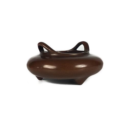 香爐 銅爐Copper Burner 11x11x6 內直徑6cm