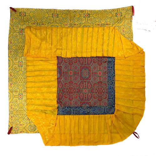 寶蓋 (黃邊) 四方 Ceiling Top cloth Square 120 cm