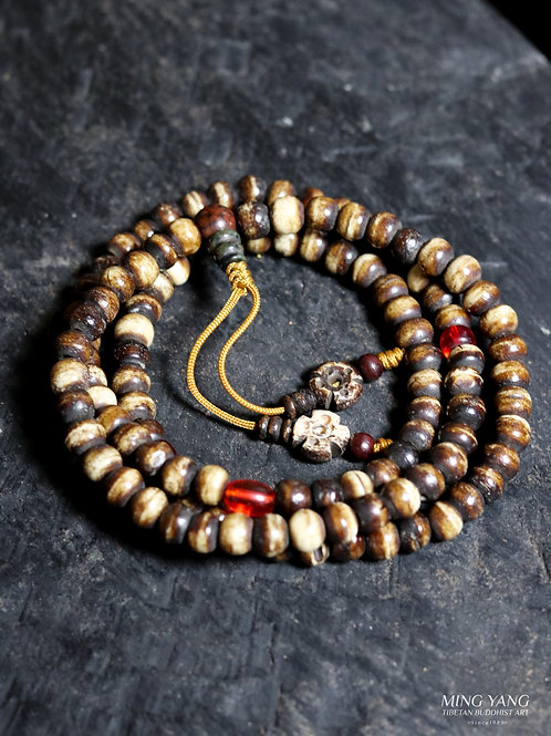 骨念珠 108 Bone Mala Prayer Beads 108 (Buy 2 take 1 Free)