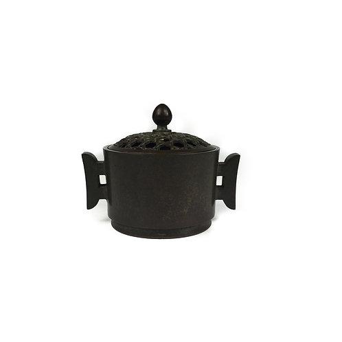 香爐 有蓋 銅爐 Copper Burner 8.5x6.3x7 內直徑5cm