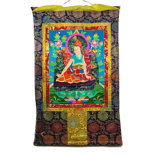 上師-4 堆繡 唐卡 Cloth Thangka 85x136cm