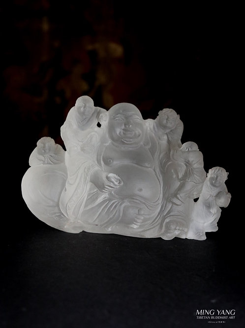 笑佛 水晶 Happy Buddha Crystal (46)