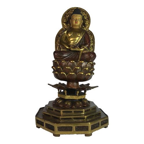 阿密陀佛 銅 半鎏金 手工 尼泊爾 佛像 Amitabha Copper Partly Gold Nepal 25x43.5cm / 8kgs