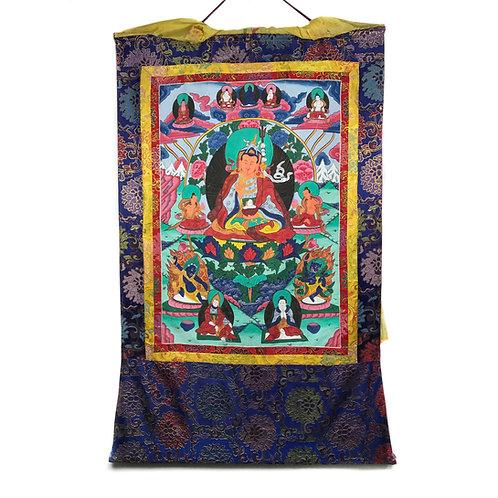 蓮花生大士-1 唐卡 Guru Rinpoche Thangka 79x127cm