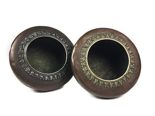 老缽 手工缽 銅 antique bowl copper