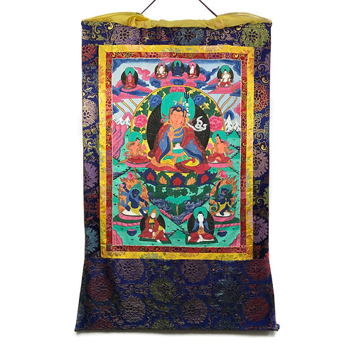 蓮花生大士-2 唐卡 Padmasambhava Thangka 78x127cm