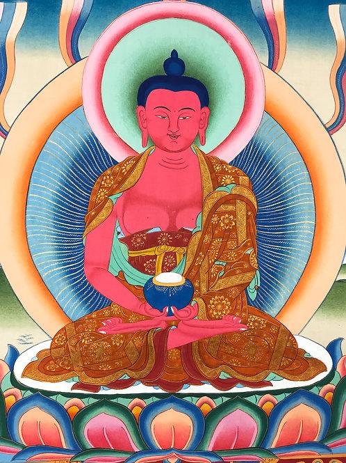 特惠價阿彌陀佛唐卡 Amitabha Handpainted Thangka 67x47cm