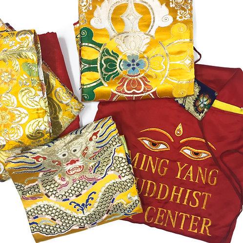 法座布 (C) 5個ㄧ組 Rinpoche seat set