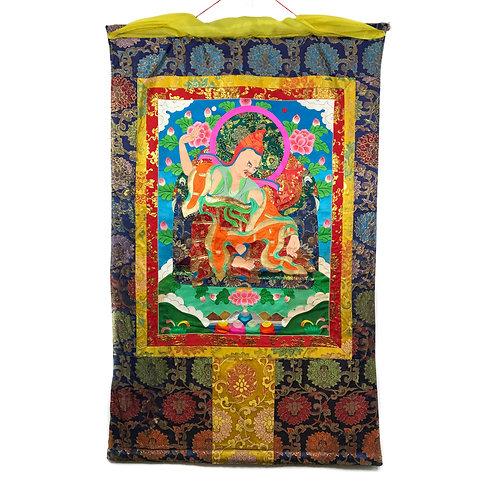 上師-5 堆繡 唐卡 Cloth Thangka 85x136cm