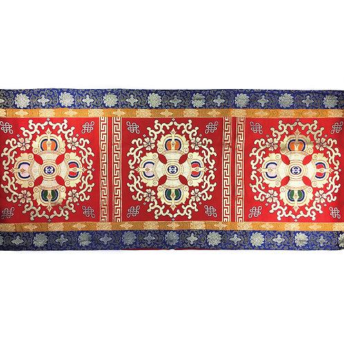 十字杵布 桌布/橫布 Double Dorje Long Table Cloth 90 x 250 cm