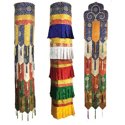 6尺 寶幢 三對一組  Chokur 6 ft 3 Pairs Set