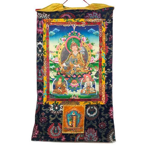 蓮花生大士-3 唐卡 Guru Rinpoche Thangka 74x130cm