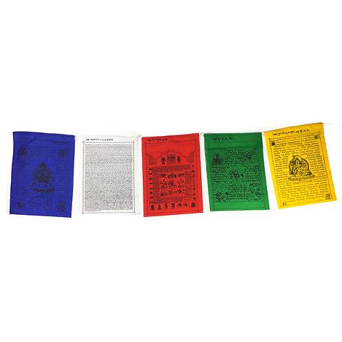 台灣天馬旗 (B) 買十送五 /五大本尊 Prayer Flag Taiwan 買十送五 48x34cm (14)