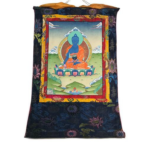 藥師佛 (D) 唐卡 Medicine Buddha Thangka 60x88cm