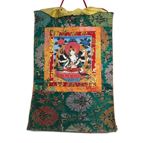 尊勝佛母 小唐卡 Namgyal Thangka 43x67cm