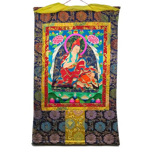 上師-2 堆繡 唐卡 Cloth Thangka 85x136cm