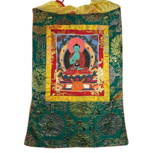 佛 c 小唐卡 Buddha Thangka 43x67cm