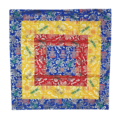 方形桌布 (藍) Table cloth Square (blue) 85x85cm