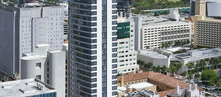 RELATED GROUP PROPOSES THE DISTRICT, A 37-STORY RESIDENTIAL & HOTEL TOWER IN DOWNTOWN MIAMI (WITH NO