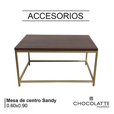 Mesa de centro Sandy