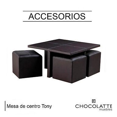 Mesa De Centro Tony