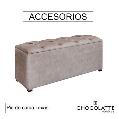 Pie de cama Texas