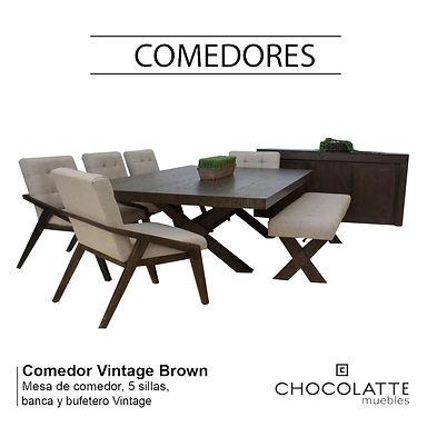 Comedor Vintage Brown