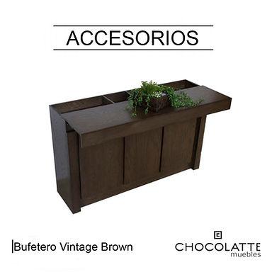 Bufetero Vintage Brown
